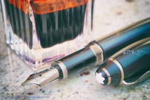 Montblanc Writers edition Willem Defoe with Ink of Love
